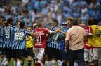 Cabisbaixos e resignados: a reação do Inter após a goleada no Gre-Nal Ricardo Duarte/Agencia RBS