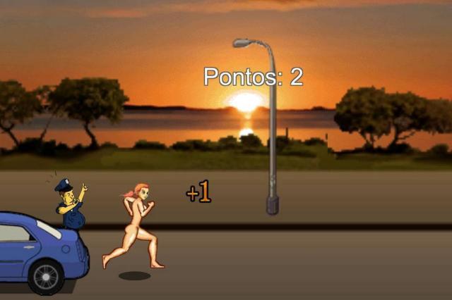 """Após ter jogo de peladas deletado, desenvolvedor lança """"Corrida Censurada"""" Reprodução/Aurea Games"""