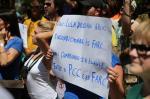Manifestação contra presidente Dilma Rousseff em Porto Alegre