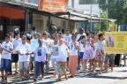 Caminhada pede paz na Zona Norte de Porto Alegre Luiz Armando Vaz/Agencia RBS