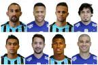 Jogador por jogador, quem leva a melhor entre Grêmio e Cruzeiro Reprodução/