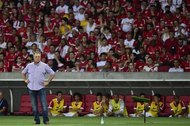 """""""Hoje foi o dia do burro com sorte"""", diz Abel após vitória Bruno Alencastro/Agência RBS"""
