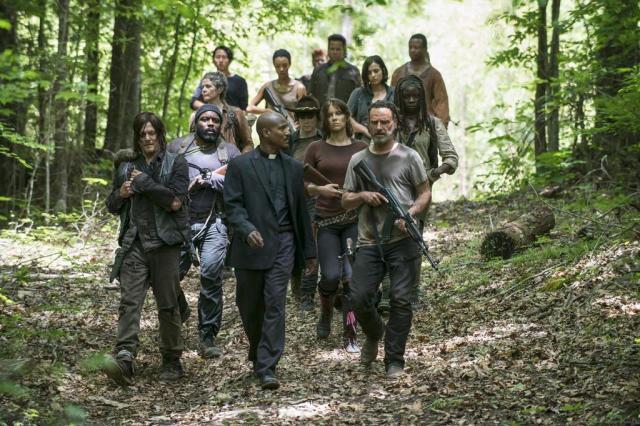 """Trailer da oitava temporada de """"The Walking Dead"""" é divulgado Gene Page,AMC/Divulgação"""
