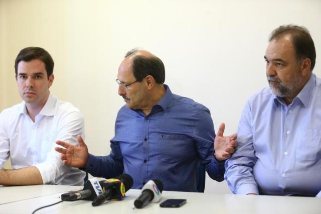 José Ivo Sartori anuncia os três primeiros secretários Mauro Vieira/Agência RBS