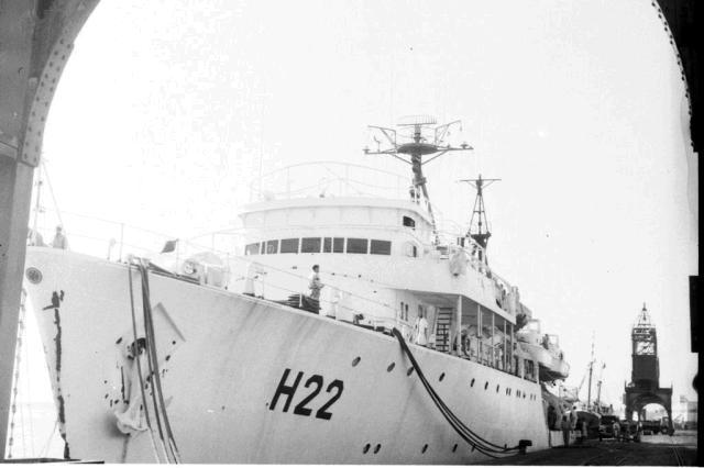 Navio hidrográfico abrigou prisioneiros da ditadura em Rio Grande Acervo Última Hora/Agencia RBS
