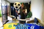 """Promovido aos 16 anos, Lincoln sonha: """"Quero ser um Ronaldinho, um Messi, um Neymar"""" Carlos Macedo/Agencia RBS"""
