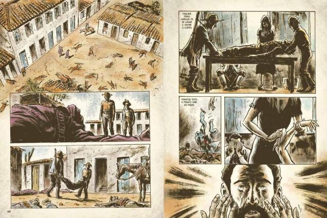 """Obra de Guimarães Rosa, """"Grande Sertão: Veredas"""" ganha versão em HQ Rodrigo Rosa/Reprodução"""