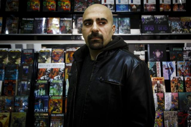 Jordaniano usa quadrinhos para contra-atacar ideologias terroristas Warrick Page/The New York Times