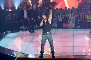 """Gaúcho Kim Lírio chega à semifinal do """"The Voice Brasil"""" Camila Serejo/Gshow Divulgação"""