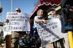"""Cubanos em Miami consideram """"traição"""" concessões feitas a Havana JOE RAEDLE/GETTY IMAGES NORTH AMERICA/AFP"""