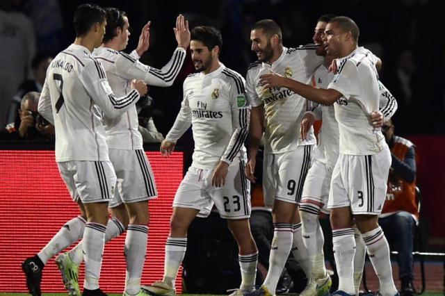 Real Madrid vence San Lorenzo e é campeão do Mundial de Clubes Javier Soriano/AFP