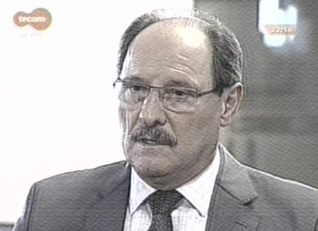 Não haverá aumento de impostos, mas não podemos descartar, diz Sartori em entrevista na TVCOM (Reprodução/TVCOM)