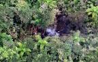 Helicóptero cai no interior de São Paulo e deixa cinco mortos Polícia Militar/Divulgação/