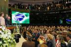 No Congresso Nacional, Dilma Rousseff anuncia prioridade à educação Roberto Stuckert Filho/PRESIDENCIA BRASIL / AFP PHOTO