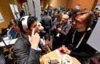 Tecnologia personalizada conquista a feira eletrônica CES 2015 ROBYN BECK/AFP