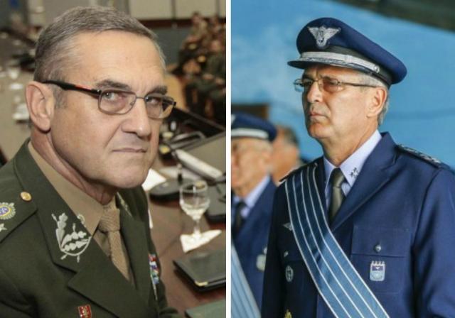 Gaúchos assumem comando do Exército e da Aeronáutica Divulgação/Divulgação
