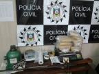 Quadrilha imprimia seu símbolo em tijolos de maconha em Santa Maria Defrec/Divulgação