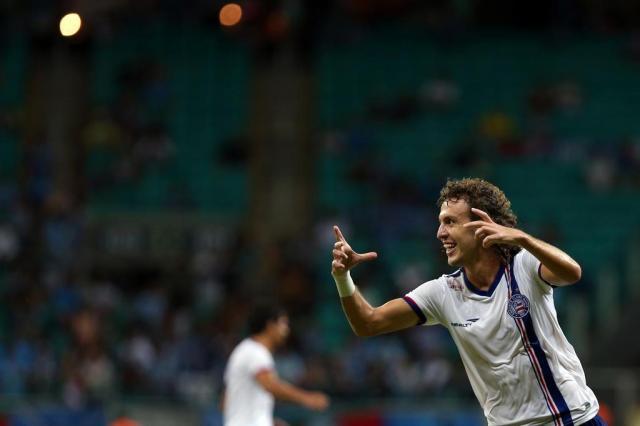 Galhardo é o novo lateral-direito do Grêmio para a temporada 2015 Felipe Oliveira/EC Bahia/Divulgação