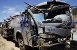 Ônibus que saiu de Passo Fundo cai em ribanceira e deixa nove mortos em Santa Catarina