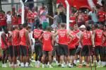Inter faz primeiro treino da pré-temporada em Bento Gonçalves