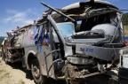 Reunidas garante que ônibus estava a 73 km/h quando caiu em SC Guto Kuerten/Agencia RBS