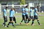 Treino do Grêmio nesta terça-feira