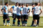 Em treino marcado por irritação de Felipão, Fellipe Bastos sai mais cedo após dividida (Lucas Uebel/Grêmio/Divulgação/)
