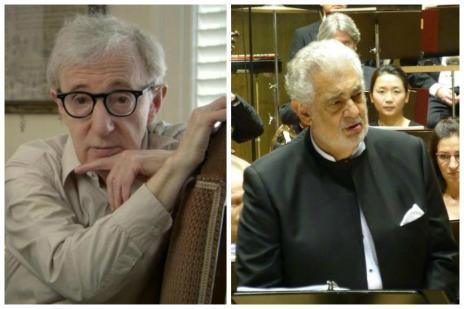 Woody Allen irá dirigir ópera estrelada por Placido Domingo (Montagem/Divulgação)