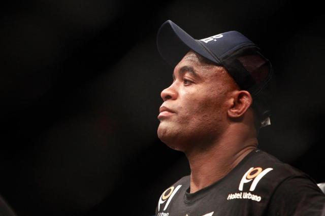 Anderson Silva é pego no antidoping por uso de anabolizante Steve Marcus/GETTY IMAGES NORTH AMERICA