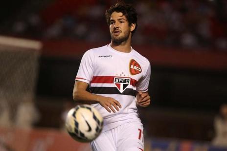 Corinthians monta projeto para vender Pato no meio do ano (Rubens Chiri/São Paulo F.C.)