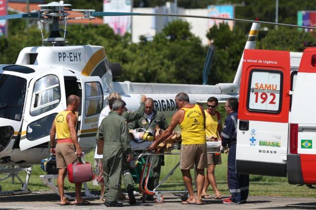 """""""Não recebemos notificação"""", diz ex-coordenador do Samu sobre aero-médicos Diego Vara/Agencia RBS"""