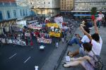 Veja como foi o protesto contra o aumento da passagem na Capital