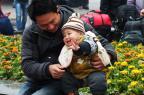 Planejamento familiar chinês defende política de dois filhos obrigatórios  AFP/AFP
