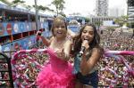 Os famosos no sábado de Carnaval pelo Brasil