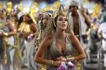 O segundo dia de desfiles do Carnaval de São Paulo