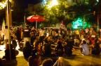 Manifestantes protestam contra o aumento da passagem de ônibus Bruna Scirea/Agência RBS