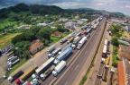 Sem acordo, movimento de caminhoneiros ganha força em rodovias no RS Omar Freitas/Agencia RBS