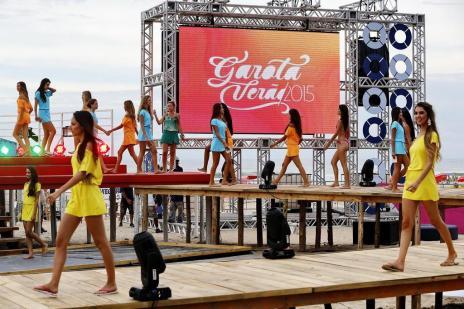 Garota Verão chega à grande final neste sábado, na RBS TV (Mateus Bruxel/Agencia RBS)