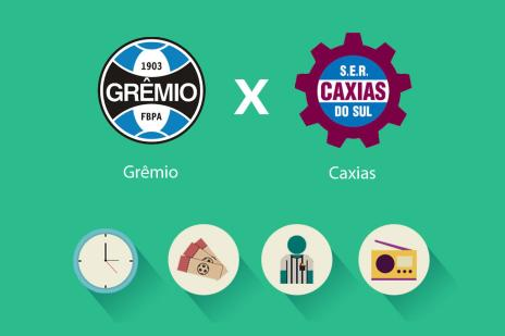 Tudo o que você precisa saber para acompanhar Grêmio x Caxias (Arte ZH/)