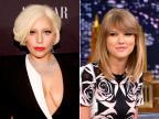 """Lady Gaga elogia Taylor Swift e diz: """"seu príncipe encantando vai chegar"""" Reprodução/US Magazine"""