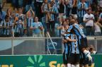 Com gol olímpico de Douglas, Grêmio vence o Caxias na Arena Diego Vara/Agencia RBS