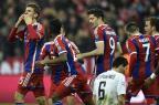 "Bayern relembra Alemanha e faz 7 a 0 no ""brasileiro"" Shakhtar Donetsk Odd Andersen/AFP"