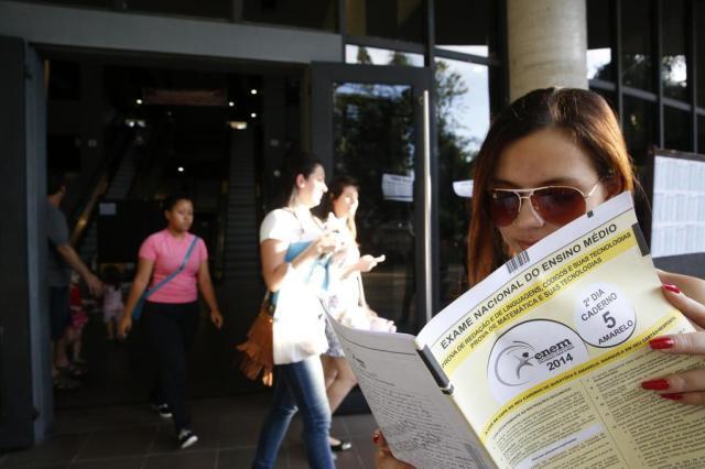 Enem não poderá mais ser usado como vestibular por treineiros Adriana Franciosi/Agencia RBS