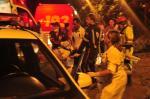 Confira imagens do acidente com ônibus na Serra Dona Francisca, no Norte de Santa Catarina