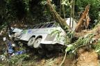 """""""O motorista ultrapassou uma carreta na serra. Só que já estava sem freio o nosso ônibus"""", diz sobrevivente Salmo Duarte/Agencia RBS"""