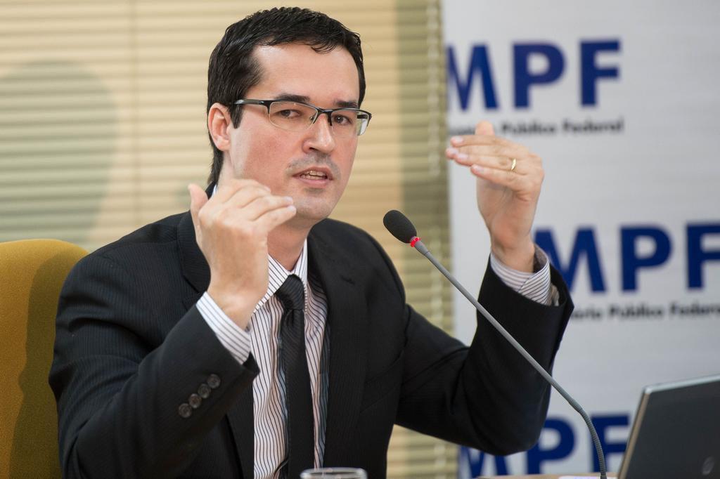"""""""Propina como doação é lavagem"""" diz Deltan Dallagnol, procurador da República Marcelo Camargo/Agência Brasil"""