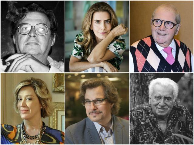Atores, cineastas e músico estão na lista de correntistas do HSBC da Suíça Montagem sobre fotos de Divulgação/Agência RBS