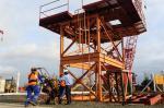 Cravação de estacas da nova ponte do Guaíba é retomada