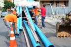 Obras de saneamento bloqueiam trânsito na Rua Tronca em Caxias Nelice de Nalle / Divulgação/