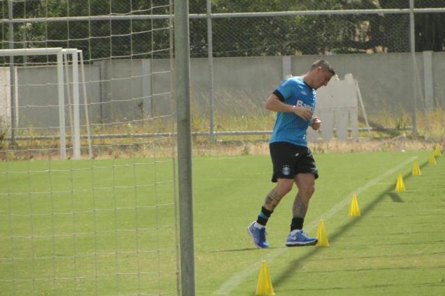 Luiz Zini Pires: Cebolla Rodríguez dá sinais de que quer ficar no Grêmio Wendell Ferreira/Agencia RBS